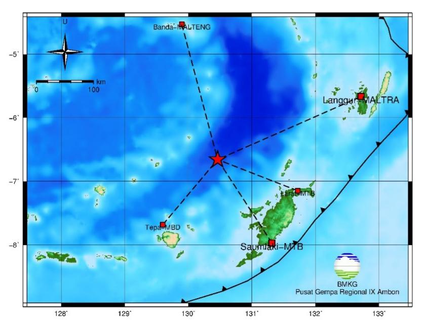 Gempa M 5,7 Guncang MTB
