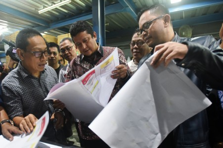 Surat Suara Pemilu 2019 untuk Maluku Mulai Dicetak di Makassar