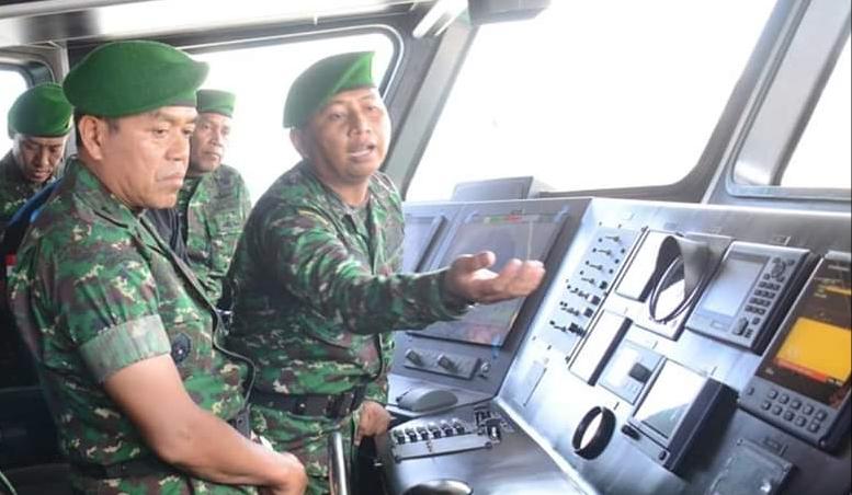 Kapal AD-64 Resmi Beroperasi di Wilayah Kodam Pattimura