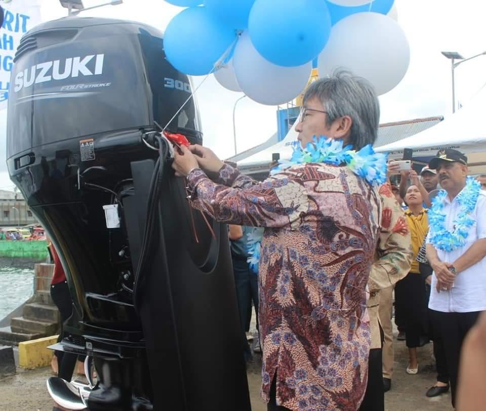 Suzuki Marine Perluas Pasar ke Ambon