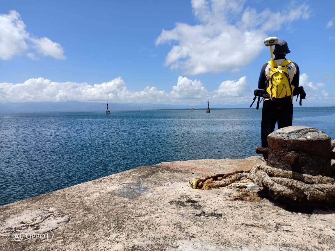 Dukung Tol Laut di Wilayah Timur, Pushidrosal Survei Hidro-oseanografi di Pelabuhan Namlea