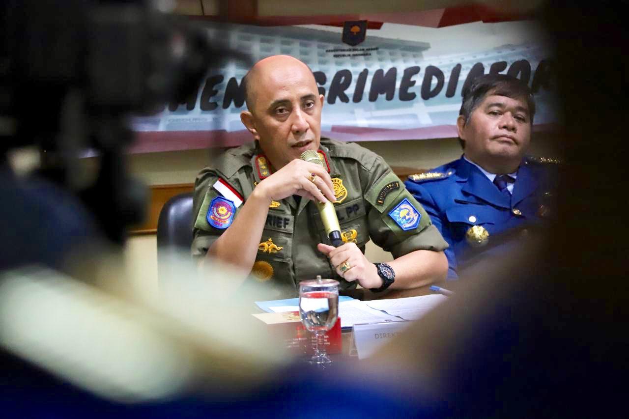 Jaga Kondusifitas TPS se-Indonesia, Kemendagri Kerahkan 1,6 juta Linmas
