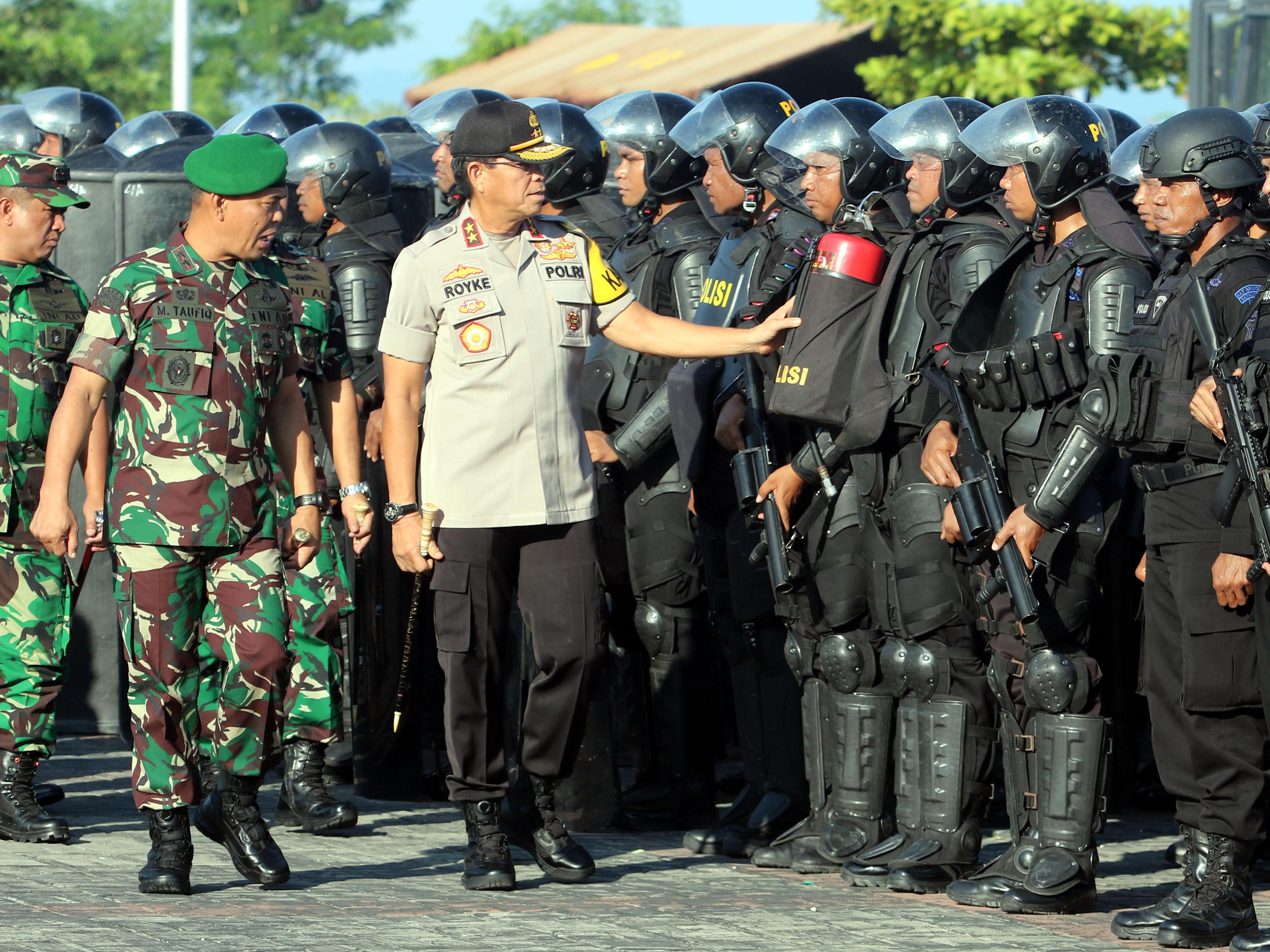 Pangdam Pattimura & Kapolda Maluku Cek Kesiapan Pengamanan Pemilu