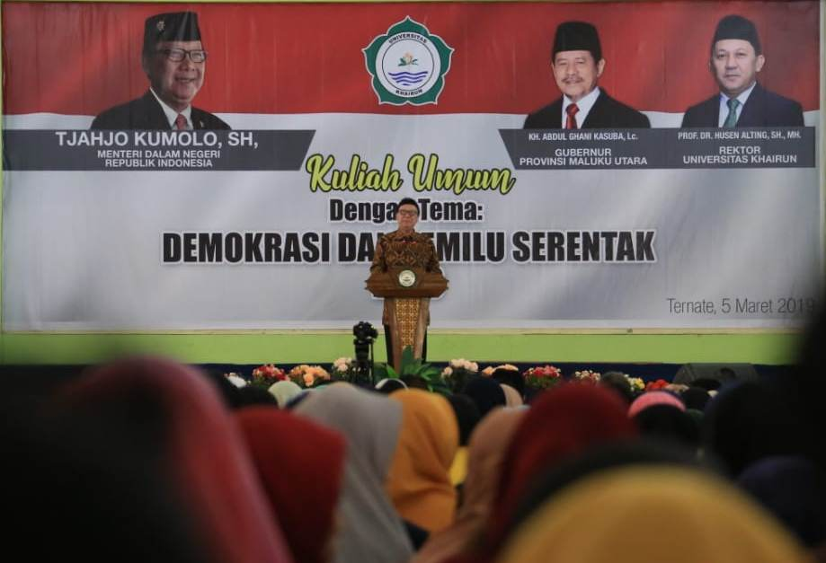 Mendagri: Pemilu Menentukan Arah Pembangunan 5 Tahun Mendatang