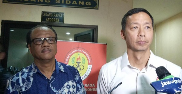 Sambangi BOPI,  Dirk Soplanit Ajukan Permohonan Rekomendasi Liga 1 2019