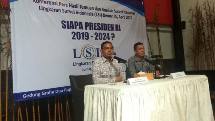 Survei LSI Denny JA: Jokowi di Ambang Menang Telak Atas Prabowo