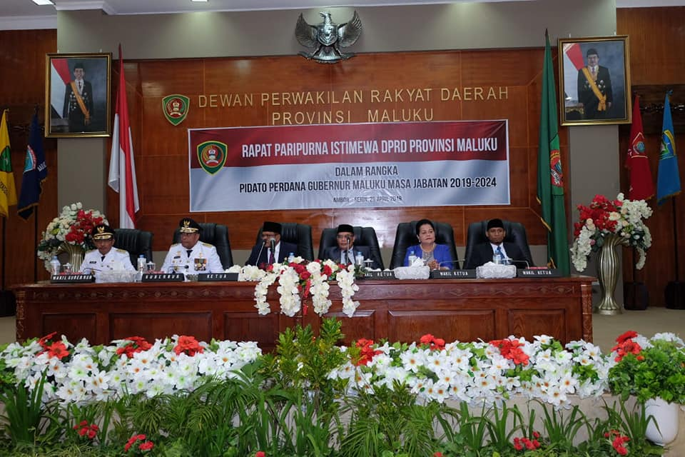 Sampaikan Pidato Perdana, Murad Bertekad Kejar Ketertinggalan