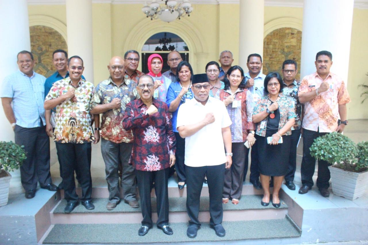 Murad Ismail Silaturahmi ke Pemkot Ambon