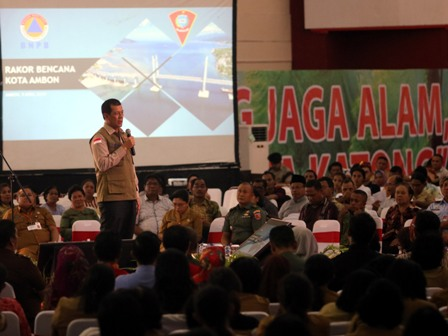 Kepala BNPB Ajak Warga Pelajari Bencana Tsunami