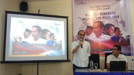 Charta Politika: Elektabilitas 55,7%, Jokowi-Ma'ruf Amin Bakal Menang Pilpres 2019