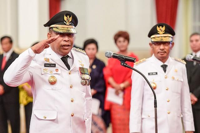 Dilantik Jokowi Jadi Gubernur Maluku, Murad Komitmen Atasi Kemiskinan