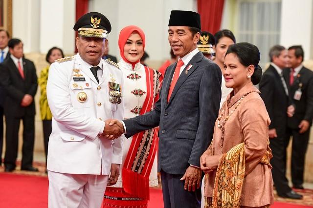 Galeri Foto Presiden Lantik Gubernur Maluku