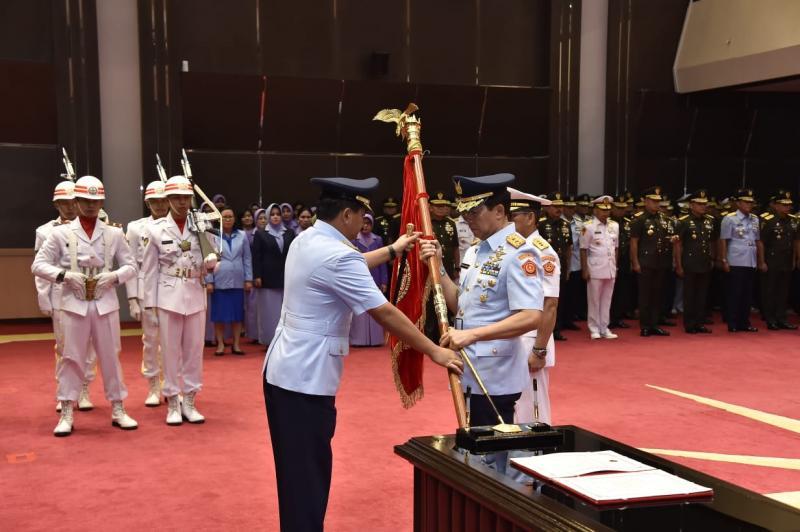 Mutasi Perwira Tinggi TNI, Mantan Danlanud Pattimura Jadi Dansesko TNI