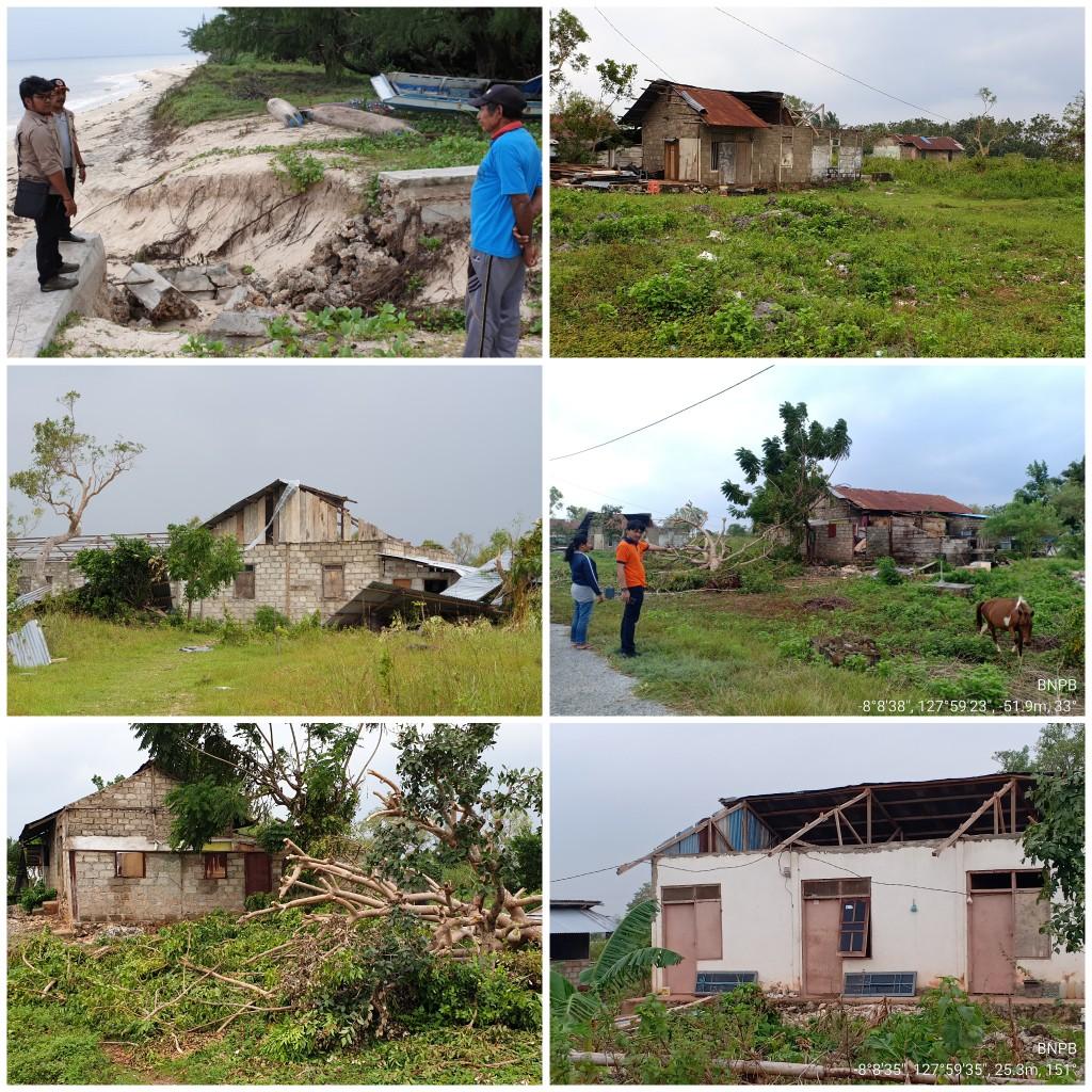 BPBD MBD: 5 Kecamatan Terkena Dampak Siklon Tropis Lili