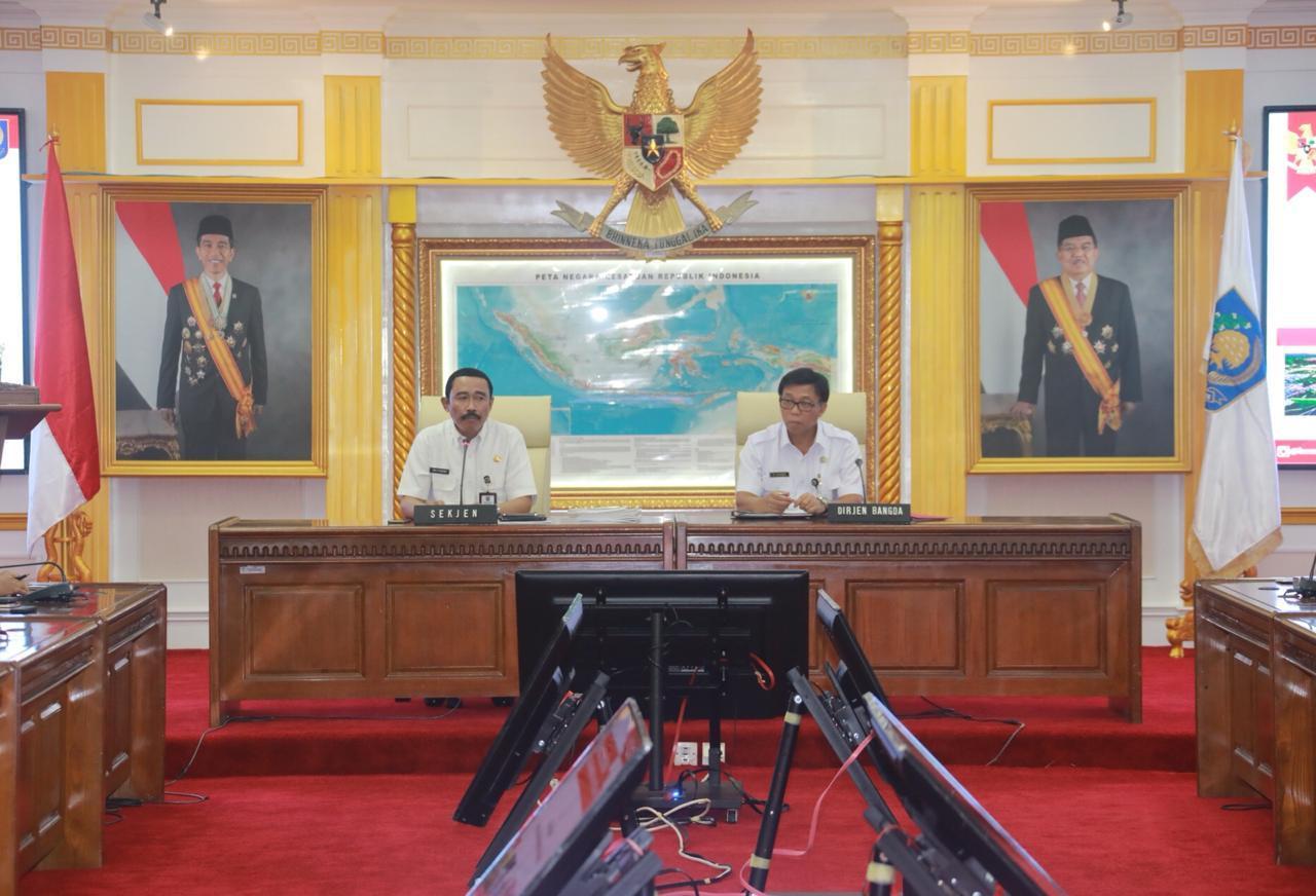 Sekjen Kemendagri Pimpin Rapat Pembahasan Hasil Musrenbang RKPD