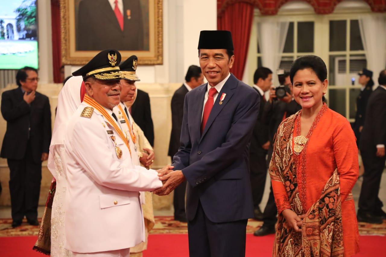 Presiden Jokowi Lantik Gubernur & Wakil Gubernur Maluku Utara