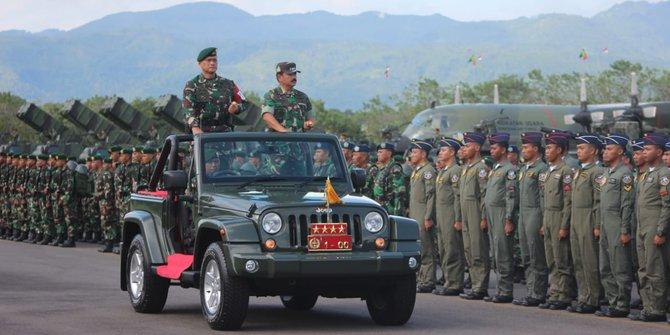 53 Perwira Tinggi TNI Dimutasi