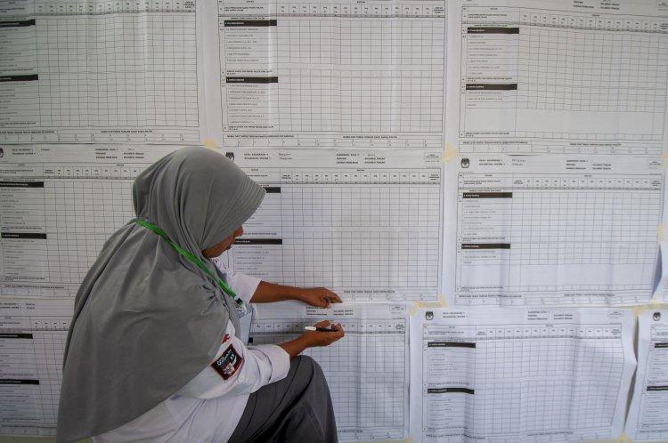 KPU: Maluku, Sulsel & Papua Masih Rekapitulasi Tingkat Kecamatan