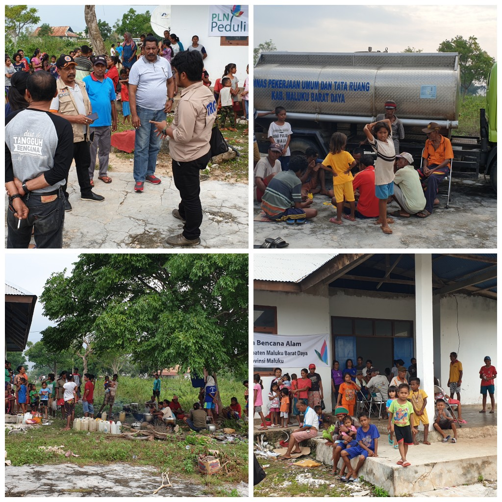 Dampak Siklon Tropis Lili, BPBD MBD: 158 Jiwa Masih Mengungsi di Tiakur