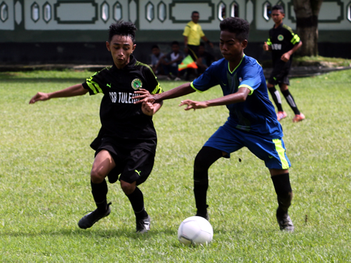 Kandaskan SSB Tulehu 5 – 0, Akademi Tulehu Putra Raih Tiket ke Putaran Kedua