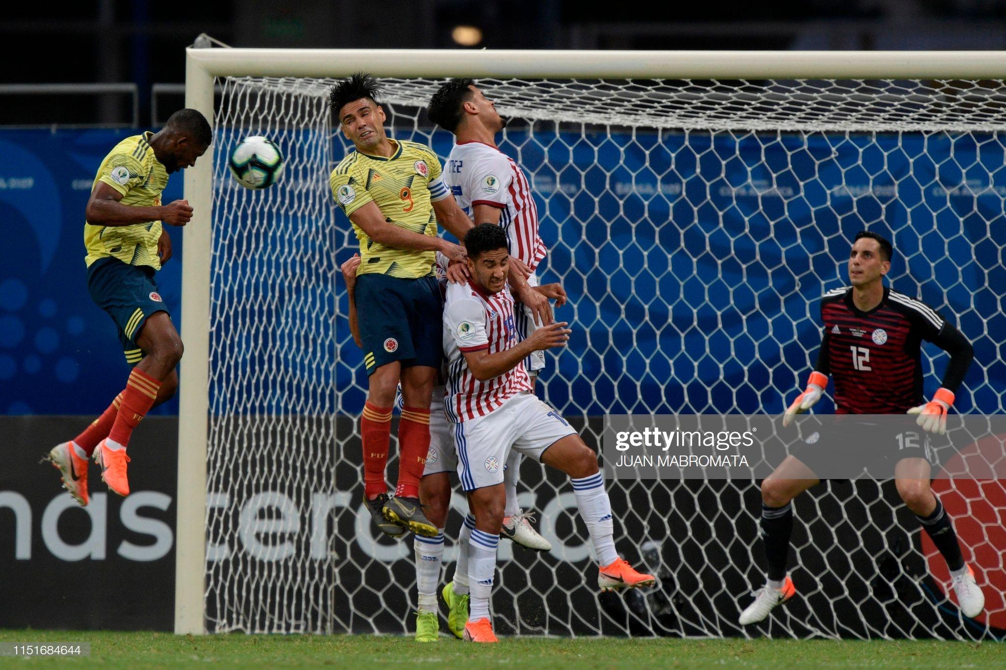 Copa America 2019: Atasi Paraguay, Kolombia Sapu Bersih Fase Grup