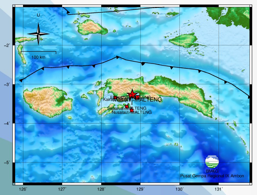 Gempa M 3,2 Guncang Elpaputih