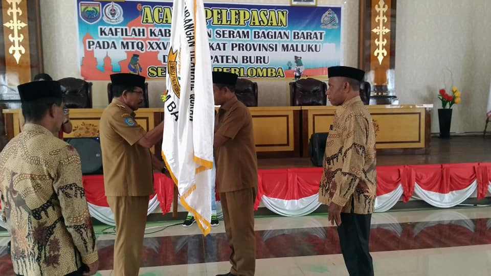 Kafilah SBB Siap Berlaga di MTQ XXVIII Provinsi Maluku