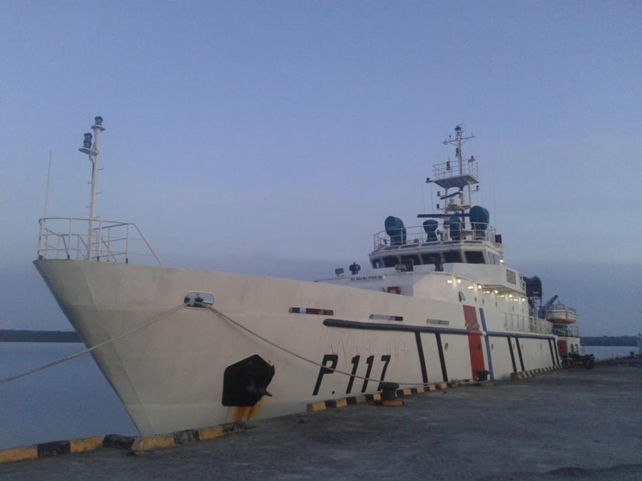 Indonesia Kirim Kapal KPLP Tual Ikut Latihan Bersama Filipina dan Jepang