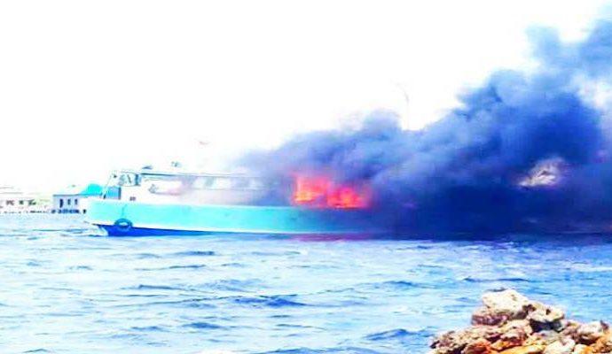 Inilah Penyebab Kapal Pengangkut BBM Terbakar