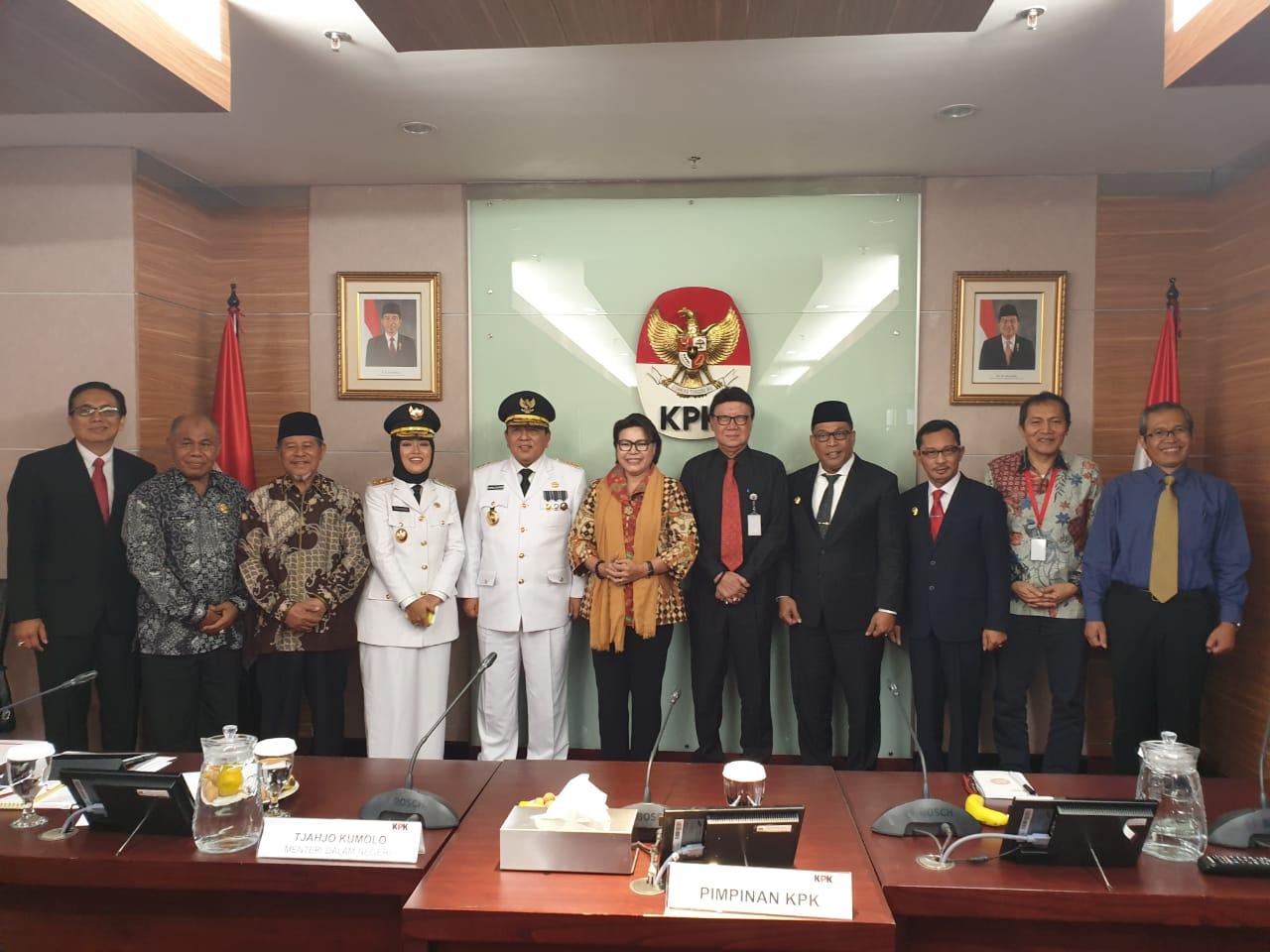 Mendagri Ajak Gubernur Maluku, Malut & Lampung ke KPK