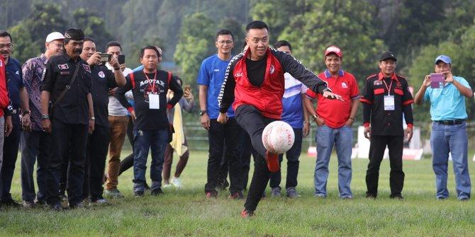 Nanti Sore Liga Sepakbola U16 Piala Menpora Seri Kabupaten Malteng Mulai Bergulir