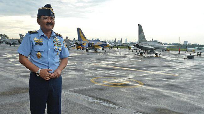 72 Perwira Tinggi TNI Bergeser Posisi