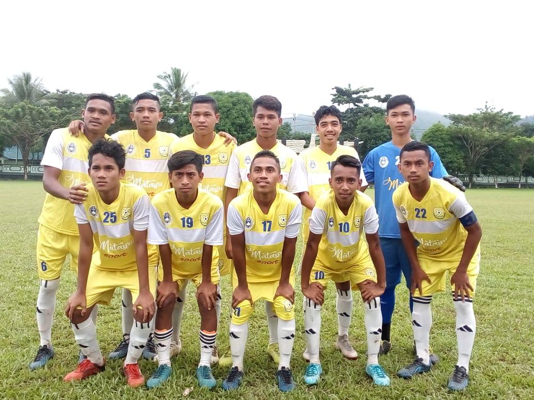 Pesta Gol ke Gawang Hatu FC, Pelauw Putra Lolos ke 8 Besar