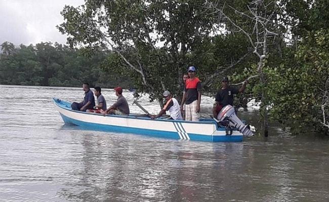 Warga Desa Wotay yang Diterkam Buaya Belum Ditemukan