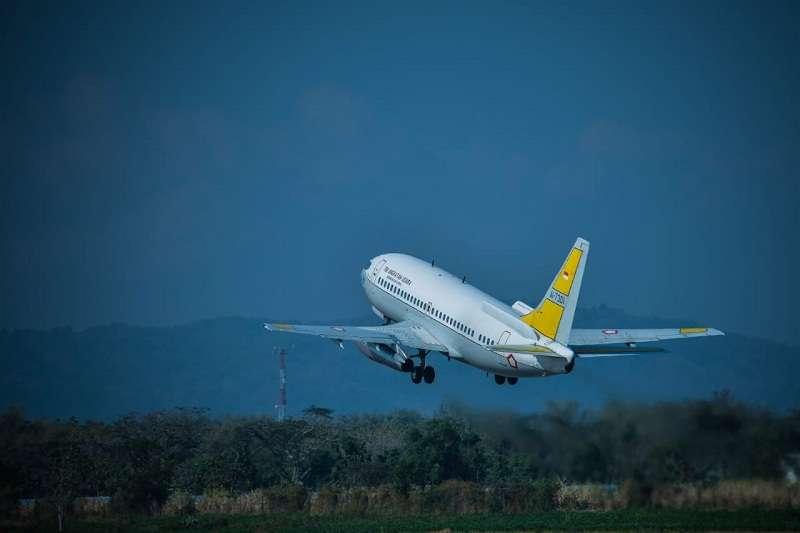 Pangkoopsau II Kerahkan Pesawat Intai Cari KM Lintas Timur yang Tenggelam di Teluk Banggai