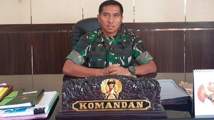 Cara Unik Danyonarmed 12/Divif 2-Kostrad Mayor Ronald Siwabessy Redam Emosi Prajurit
