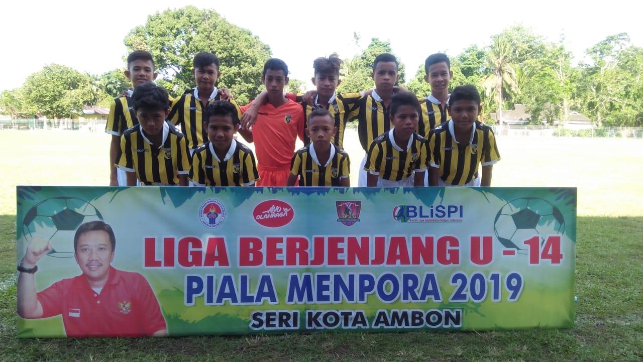 SSB Mandala Karpan U14 Lolos ke Seri Provinsi Maluku