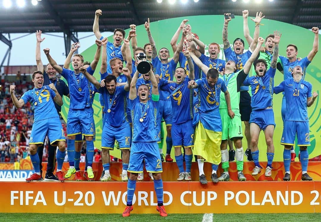 Ukraina Juara Dunia U20