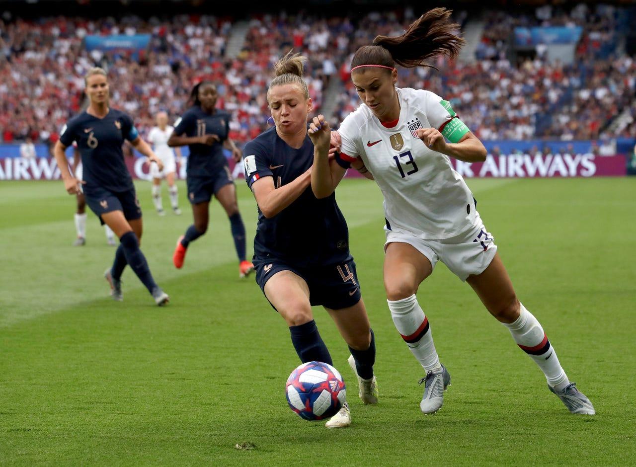Piala Dunia Wanita 2019: Prancis tak Berdaya di Hadapan Amerika