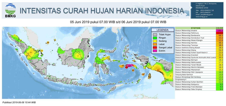BMKG: Waspadai Potensi Cuaca Buruk Saat Arus Balik Termasuk di Maluku