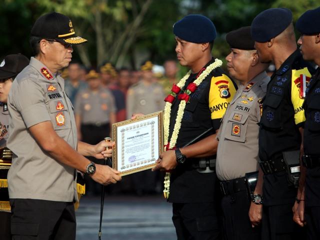Usai Tugas Amankan Jakarta, 500 Personel Polda Maluku Peroleh Penghargaan