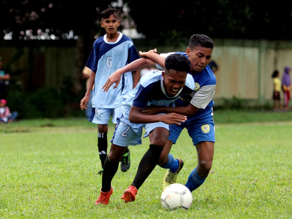 Diwarnai Protes, Pelauw Putra Kalahkan Wainuru FC