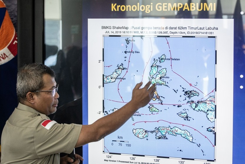 'Update' Dampak Gempa Halmahera, BNPB: 4 Warga Meninggal, 971 Rumah Rusak Berat