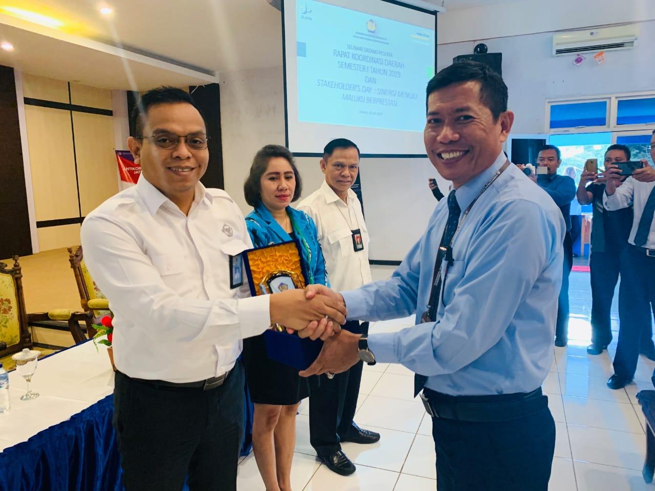 BPK Maluku Raih Penghargaan Satuan Kerja Terbaik