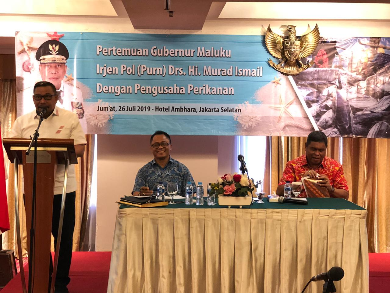 Genjot PAD, Gubernur Maluku Kumpulkan Ratusan Pengusaha Perikanan