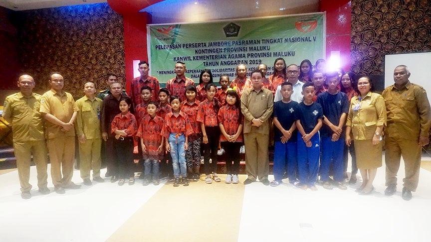 Maluku Kirimkan 25 Peserta Ikuti Jambore Pasraman Tingkat Nasional