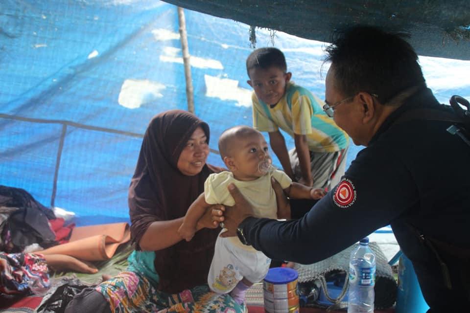 Akses Terbatas, Kemensos Bertahap Distribusi Bantuan Korban Gempa Halmahera