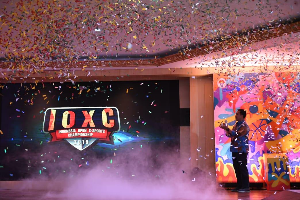 Launching Logo IOXC, Menpora Harap Lahir Atlet Berprestasi di Olahraga Ekstrem