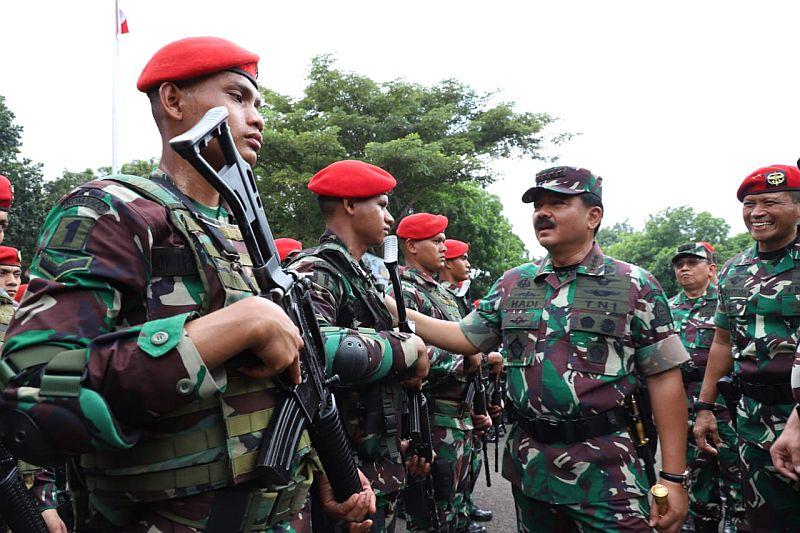 Panglima TNI Geser Posisi 33 Perwira Tinggi