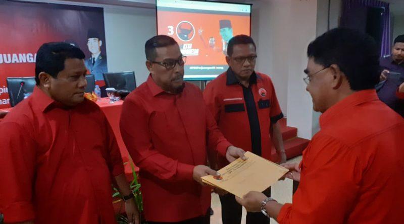 Murad dan Edwin Nahkodai DPD PDIP Maluku